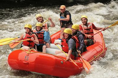 White water rafting - Leonardo dasilva