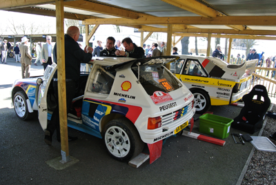 Image of Group B cars at Goodwood 72mm
