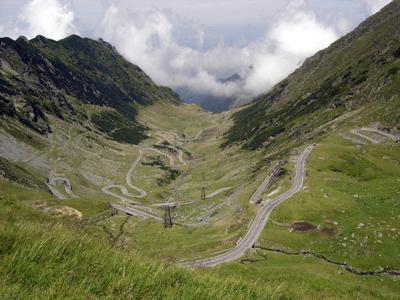 Image of Transfagarasan highway