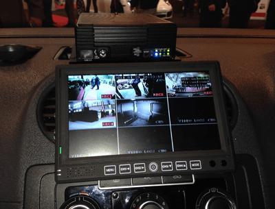 In-van CCTV