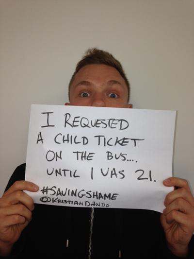 Image of #savingshame