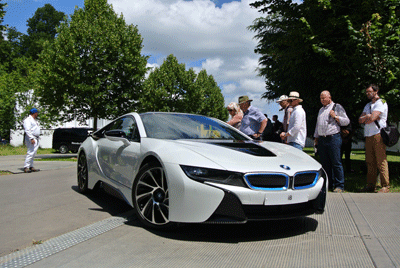 Image of BMW i8 at Goodwood Festival of Speed