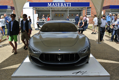 Image of Maserati at Goodwood Festival of Speed