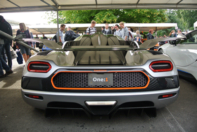 Image of Koenigsegg One:1 at Goodwood