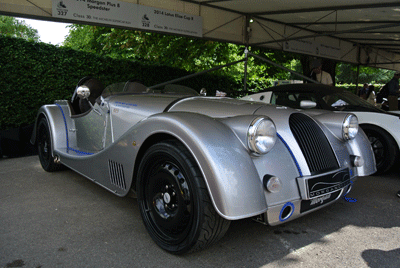 Image of Morgan at Goodwood Festival of Speed