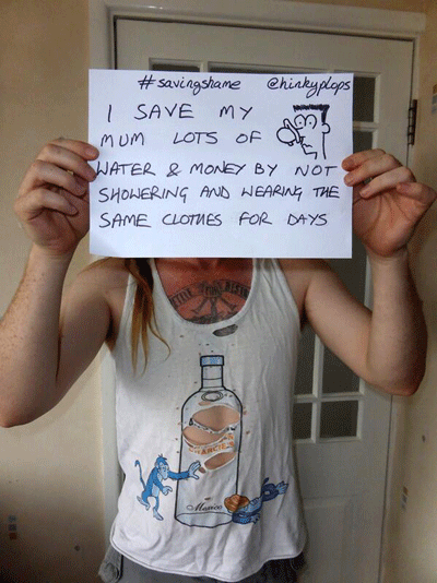 Image of saving shame