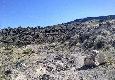 Image of challenging terrain