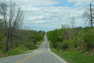 Image of green highway