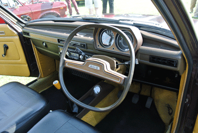 Image of Austin Allegro quartic steering wheel