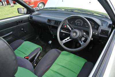 Image of Nissan Cherry interior
