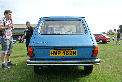 Image of Renault 6 rear