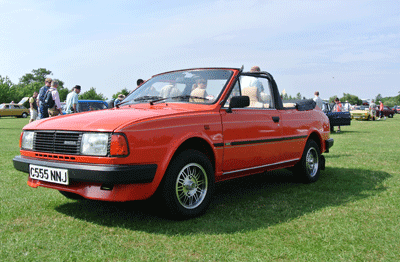 Image of Skoda Rapid convertible