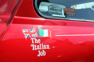 Image of Italian Job-style Mini