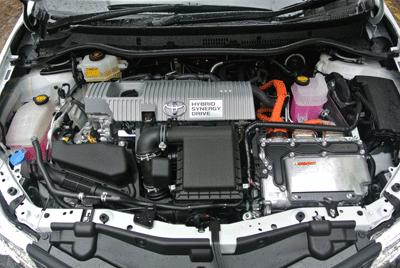 Image of Toyota Sports Tourer engine
