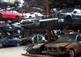 Image of scrappage yard