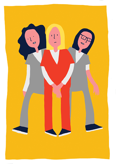 Illustration of Orange is the New Black