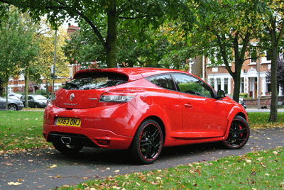 Image of red Renaultsport 265 cup