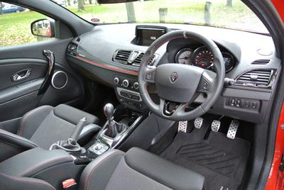 Image of Renault Megane 256 interior