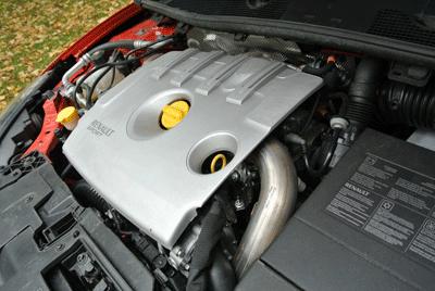 Image of Renault Megane 256 engine