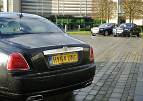 Image of Rolls-Royce cars