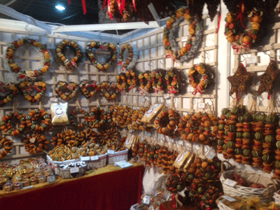 Image of nice-smelling wreaths