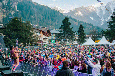 Image of Snowbombing festival