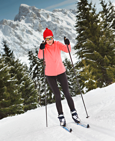 Image of nordic skiing