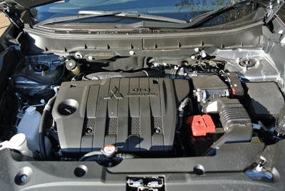 Image of Mitsubishi ASX engine