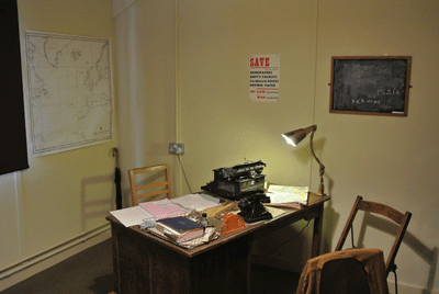 Image of room in Bletchley park