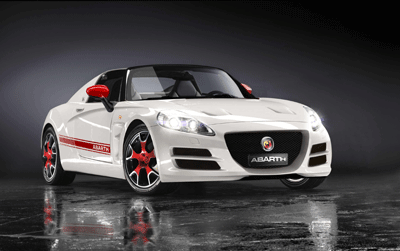 Image of the Abarth Roadster