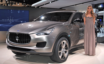 Image of the Maserati Levante