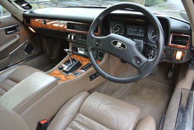 Image of Jaguar XJ-S interior
