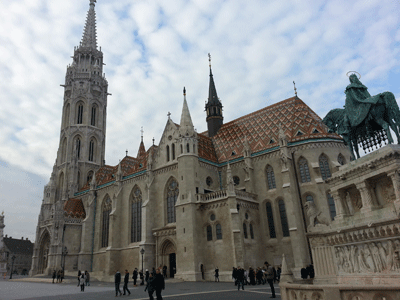 Image of Matthias church in Budapest