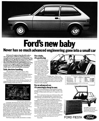 Image of MK 1 Fiesta advert