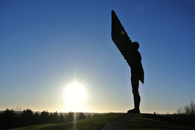 Image of the Angel of the North