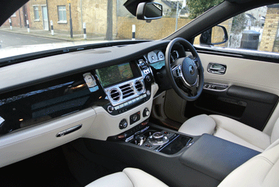 Image of-Royce Ghost interior