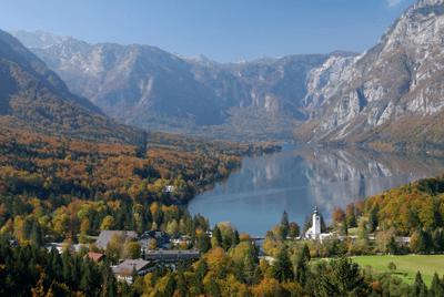 Triglav park in Slovenia