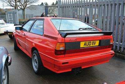 Image of Audi Quattro