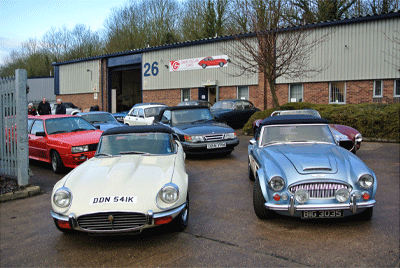 Image of Classic Car fleet