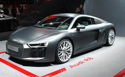 Image of Audi R8 at Geneva 2015