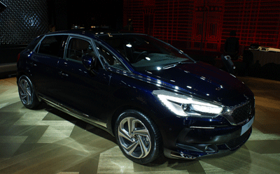 Image of DS 5 at Geneva 2015