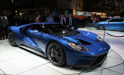 Image of Ford GT at Geneva 2015