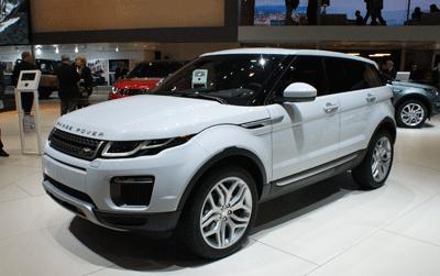 Image of Range Rover Evoque at Geneva 2015
