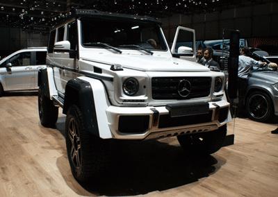 Image of Mercedes G Wagen at Genva 2015