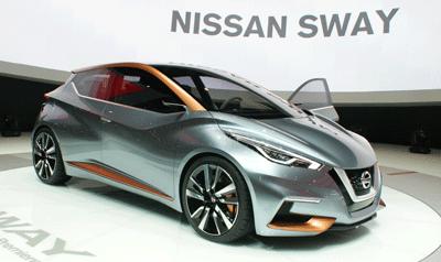 Image of Nissan Sway at Geneva
