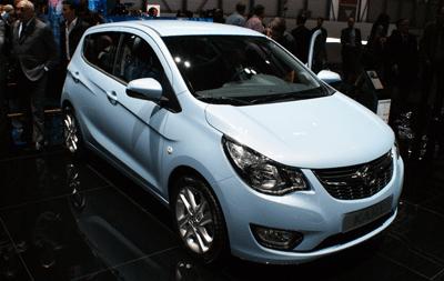 Image of Opel Karl at Geneva 2015