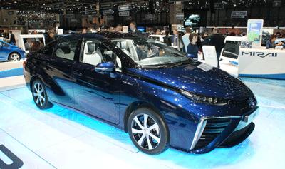 Image of Toyota Mirai at Geneva 2015