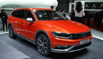 Image of Volkswagen Passat at Geneva 2015