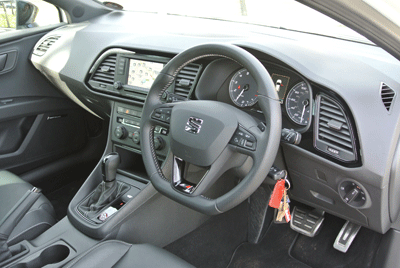 Image of Seat Leon interior