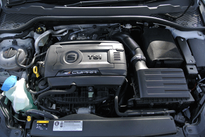 Image of SEAT Leon engine
